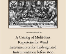 A Catalog of Multi-Part Repertoire before 1600