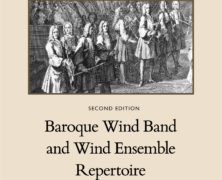 Baroque Wind Band and Wind Ensemble Repertoire
