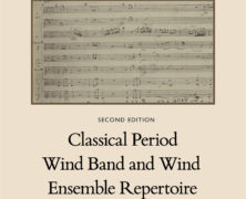 Classical Period Wind Band and Wind Ensemble Repertoire