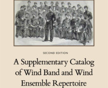 A Supplementary Catalog of Wind Band and Wind Ensemble Repertoire