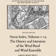 Name Index, Volumes 1-12