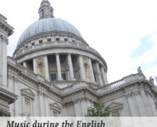 Music during the English Restoration